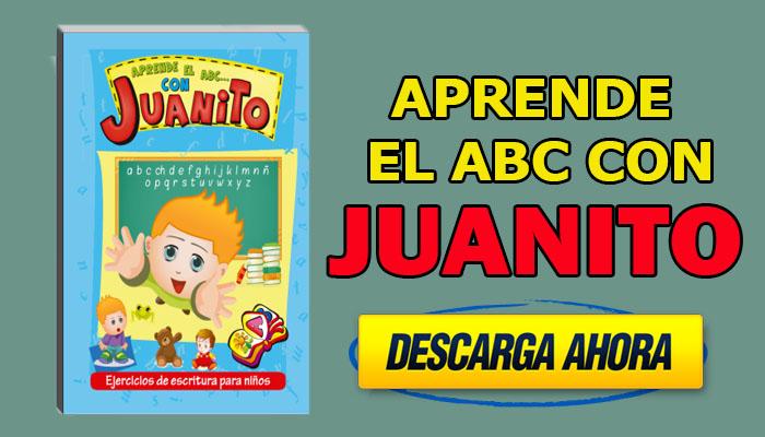 Aprende el ABC con Juanito Ejercicios de Escritura