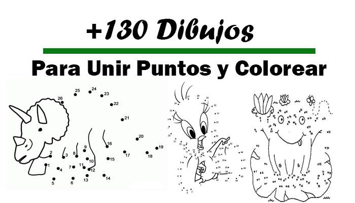 Descargar 130 Dibujos Para Unir Puntos y Colorear - Portal