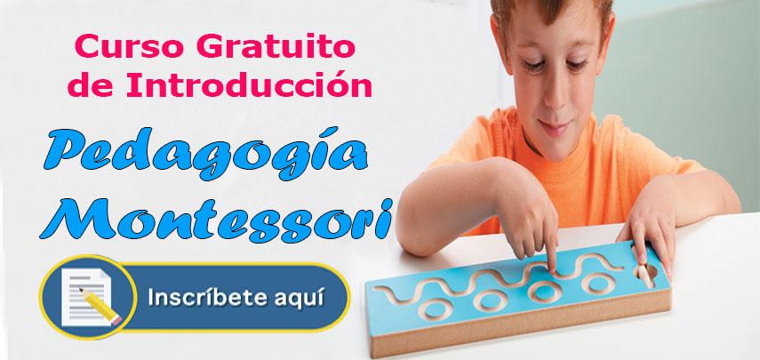 Curso Gratuito de Introducción a la Pedagogía Montessori
