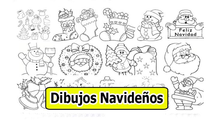 Dibujos Navideños Para Colorear Imprimir En Pdf Portal