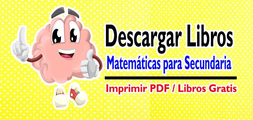 Libros de Matemáticas para Secundaria