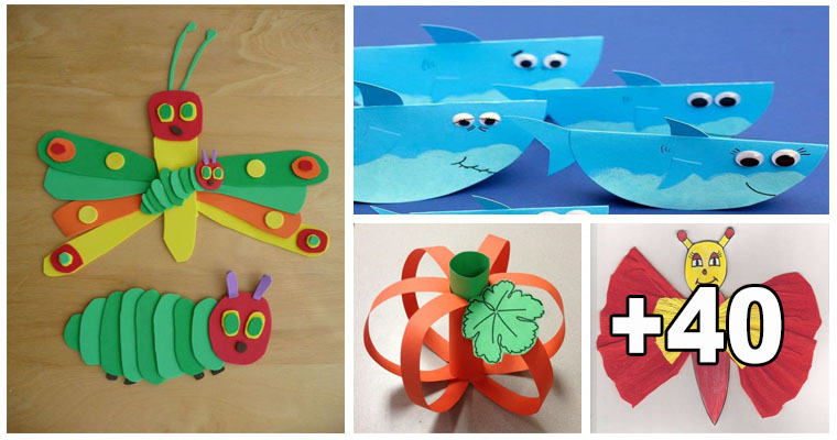 manualidades con papel para niños de 3 a 5 años portal de educación