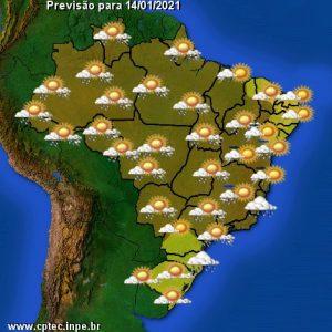 Meteorologia prevê mais chuva para esta quinta-feira no MS