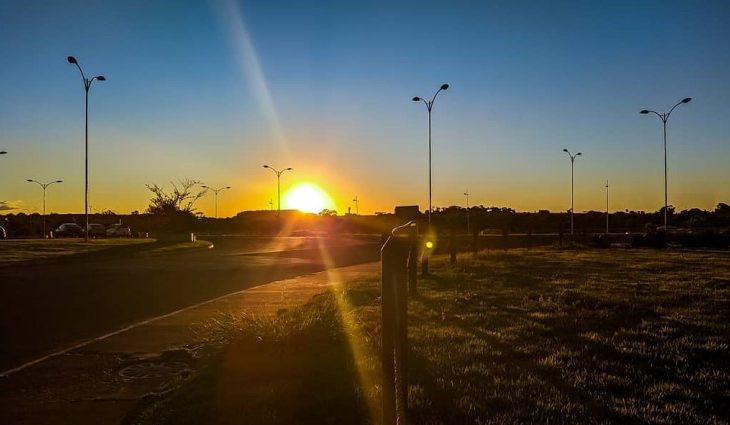 Fim de semana terá predomínio de sol, ar seco e temperaturas amenas