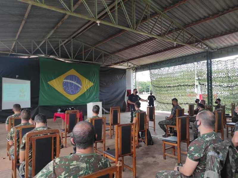 11º RC MEC realiza estágio de Operações na Faixa de Fronteira
