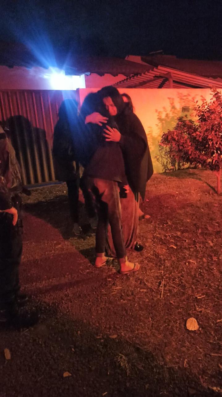 Polícia Militar encontra moça desaparecida e promove encontro com a família em Dourados