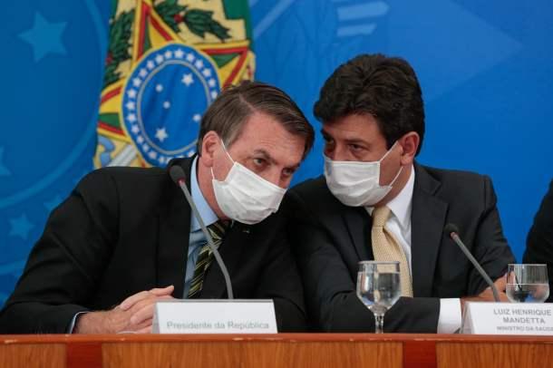 Presidente da República, Jair Bolsonaro e Ministros de Estado.