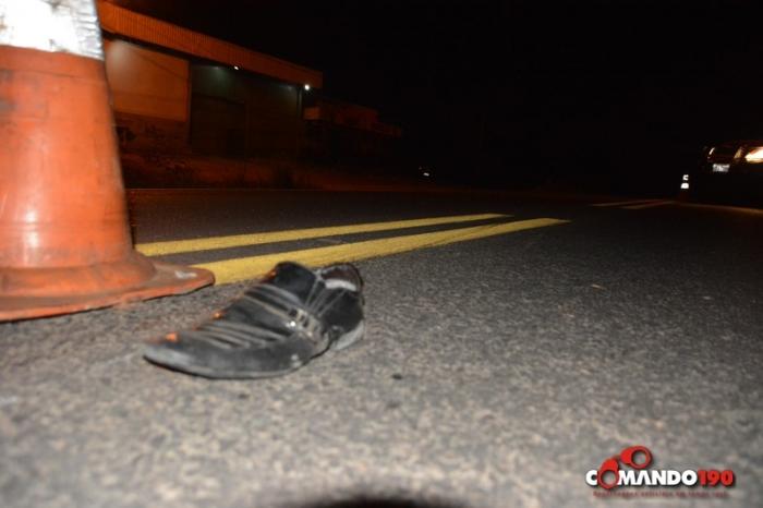 Motorista bêbado atropela e mata motociclista de 43 anos na BR-364