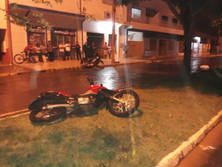 Estudante do IFRO morre em acidente após perder o controle da moto em obra inacabada