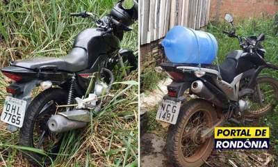 Polícia Militar recupera duas motos roubadas