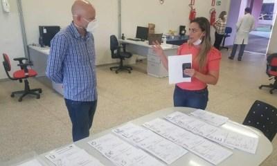Palitot verifica ações da Prefeitura para o Covid-19 e entrega cestas básicas