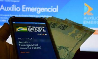 Auxílio emergencial: Mais 3,8 milhões recebem nesta quarta