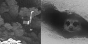 Philae no seu buraco