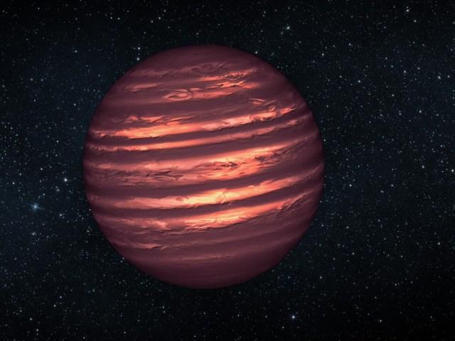 Será uma estrela, será um planeta? Não! É uma anã castanha!
