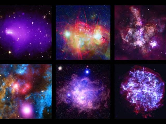 Novas imagens do Chandra