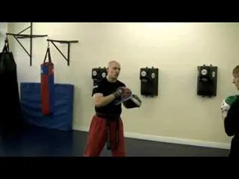 Boxing and Elbow Combination