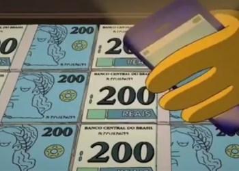 ACREDITA EM PREVISÃO DO FUTURO? COM NOTA DE 200 OS SIMPSONS ACERTAM MAIS UMA VEZ