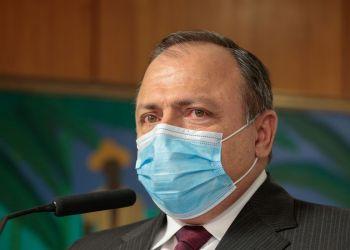 (Brasília - DF, 06/08/2020) Palavras do Ministro interino da Saúde,  Eduardo Pazuello. Foto: Carolina Antunes/PR