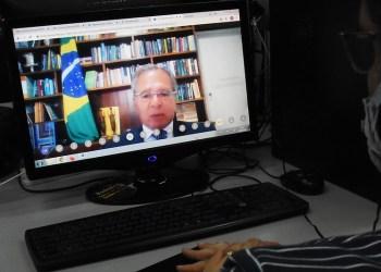 EM REUNIÃO COM PAULO GUEDES, ARTHUR VIRGÍLIO COBRA AGILIDADE NO PAGAMENTO DE PROGRAMAS HABITACIONAIS