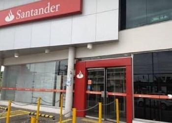 AGÊNCIA BANCÁRIA DO SANTANDER SOFRE ASSALTO NA CIDADE NOVA