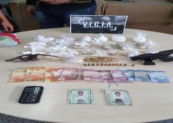 DUPLA É PRESA SUSPEITA DE COMANDAR PONTOS DE TRÁFICO DE DROGAS NA REDENÇÃO