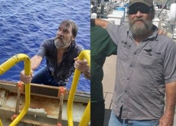 Após dois dias desaparecido, marinheiro é encontrado vivo, agarrado ao barco