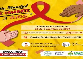 """FUNDAÇÃO DE MEDICINA TROPICAL PROMOVE CAMPANHA """"DEZEMBRO VERMELHO"""""""
