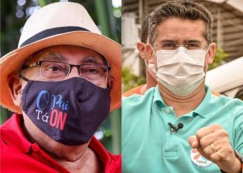 David cai 4  pontos e Amazonino cresce o dobro; a eleição será decidida voto a voto no domingo