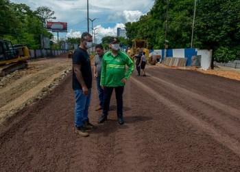 Avenida Mário Ypiranga Monteiro deve ser liberada para o tráfego de veículos neste sábado