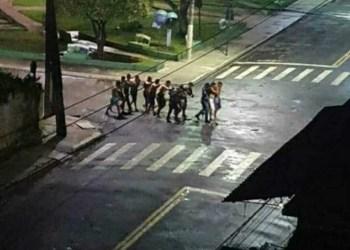 """Bandidos """"imitam"""" Criciúma e tomam ruas em assalto no Pará"""