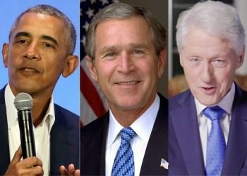 """Obama, Bush e Clinton afirmam que vão tomar vacina """"ao vivo"""""""