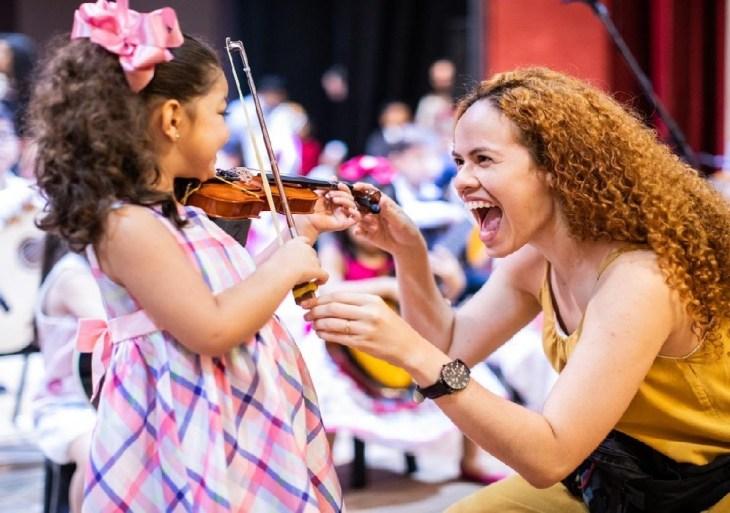 Mostra de Música Criança Talento reúne pequenos artistas em série de recitais