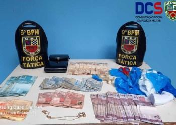 Polícia Militar detém mulher envolvida com o comércio ilícito de drogas no AM