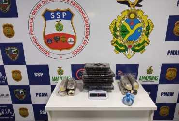 Base Arpão prende quatro por tráfico de drogas durante fiscalizações na sexta-feira