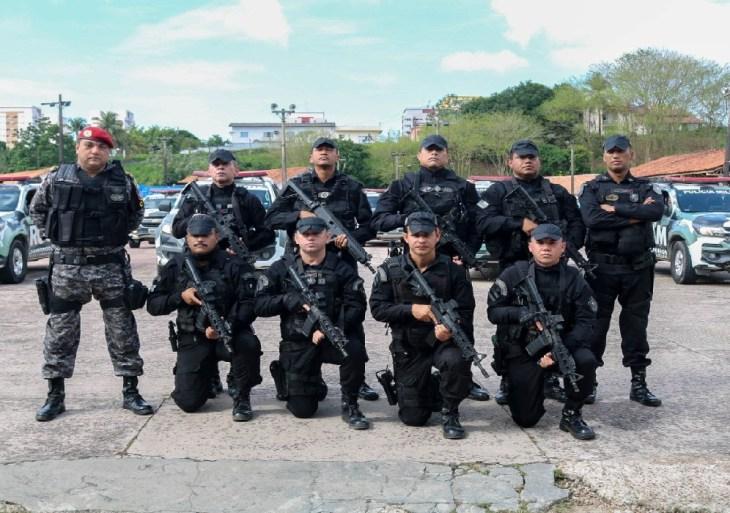 Comando de Policiamento Especializado da PM deflagra operação 'Demolidor' em áreas comerciais da capital