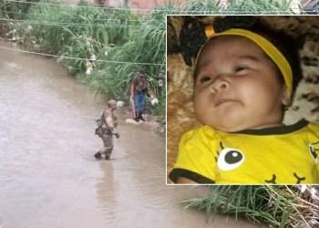 Buscas por bebê jogada em igarapé na Zona Norte continuam