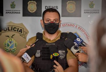 Polícia Civil do Amazonas prende homem condenado a 12 anos de reclusão por homicídio