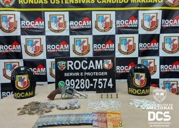 Polícia Militar prende 17 suspeitos de crimes e retira de circulação nove armas de fogo