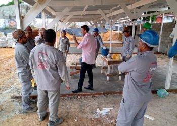 Trabalhadores da construção civil vão parar por uma semana