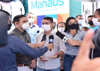 Prefeito David Almeida decreta situação de emergência em Manaus por conta do avanço da Covid-19