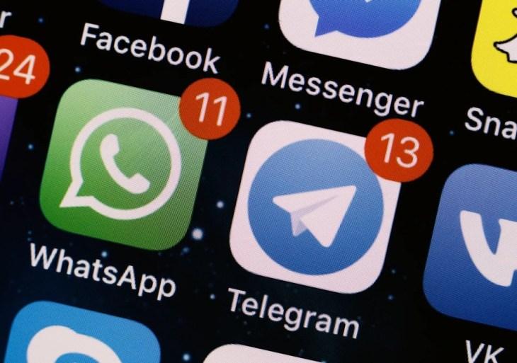 WhatsApp: mudanças fazem app sair do 1° lugar; Telegram lidera