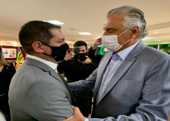 Marcelo Ramos anuncia que governador Caiado vai contribuir com oxigênio para Amazonas