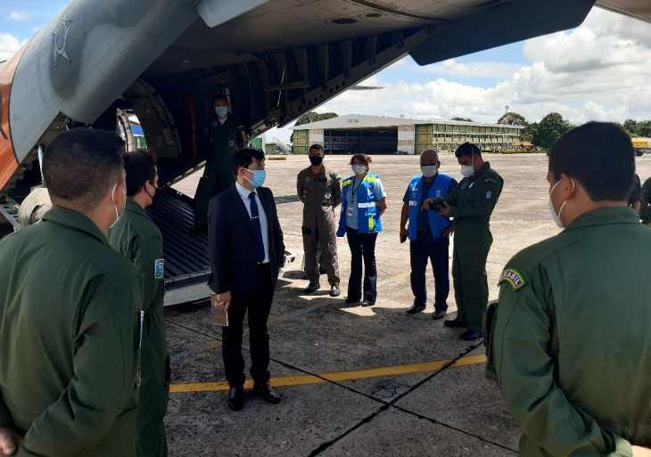 Ministério da Saúde realiza estudo para readequação das operações de transporte de oxigênio para o Amazonas