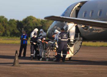Governo do Amazonas transfere 12 pacientes de Tefé para Belém