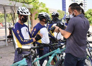 Guarda Municipal intensifica fiscalização no calçadão da Ponta Negra