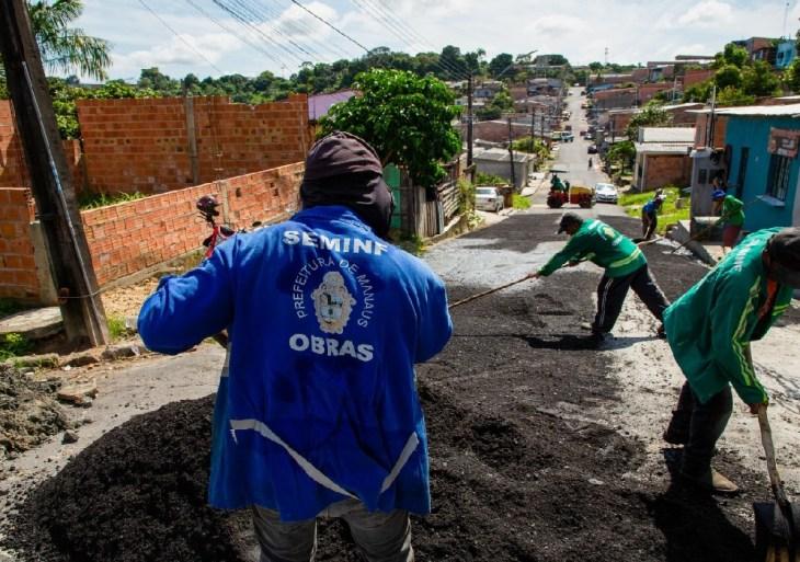 47 ruas no bairro Riacho Doce serão pavimentadas a partir desta sexta (19)