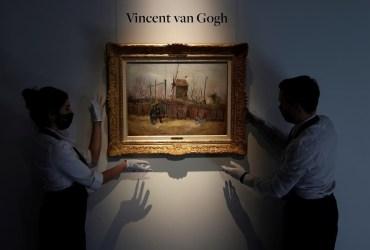 Misterioso quadro inédito de Van Gogh será revelado em Paris