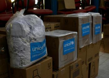 Sejusc recebe 60 kits de higiene do Unicef para atender idosos em vulnerabilidade social