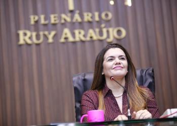 Alessandra Campêlo anuncia metas da Comissão da Mulher na Aleam