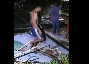 Homem morre soterrado após casa desabar, na zona Norte de Manaus